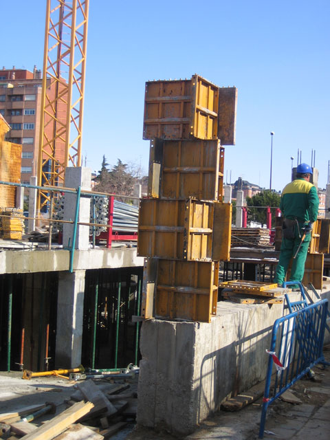 Metallic Formwork Construction Dercons2000